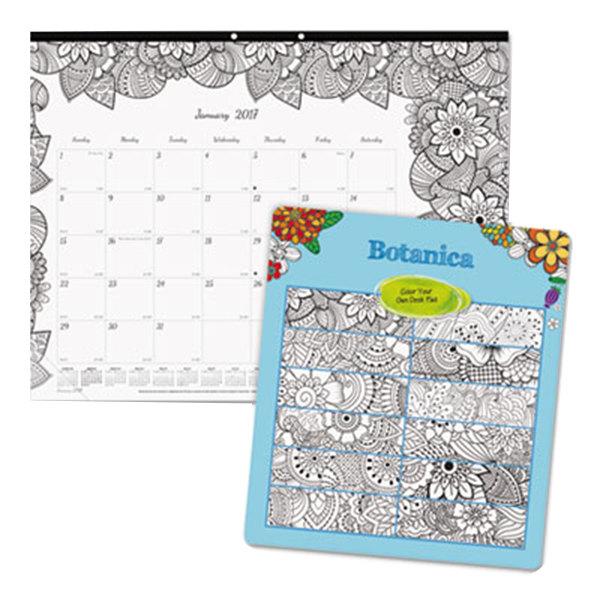 Calendar January 2020 Coloring Pages Blueline C2917311 DoodlePlan 22