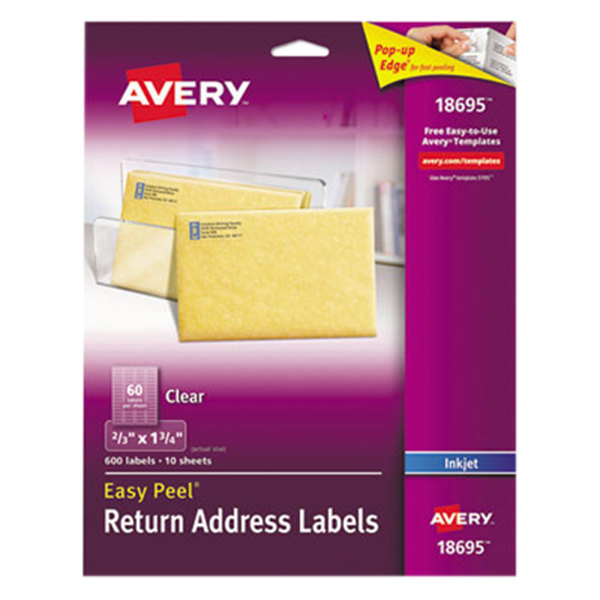Main Picture ...  Large Mailing Labels