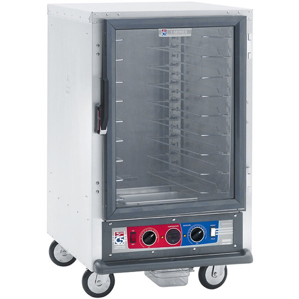 Metro C515-PFC-L C5 1 Series Non-Insulated Proofing Cabinet - Clear Door