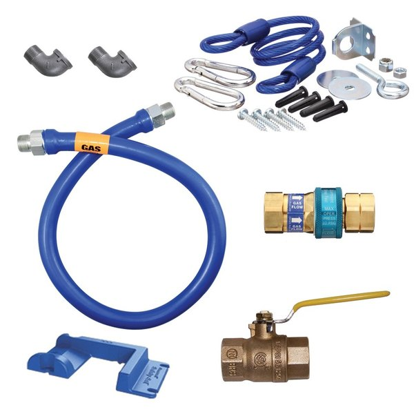 "Dormont 1675KIT36PS Deluxe SnapFast® 36"" Gas Connector Kit with Safety-Set® - 3/4"" Diameter"