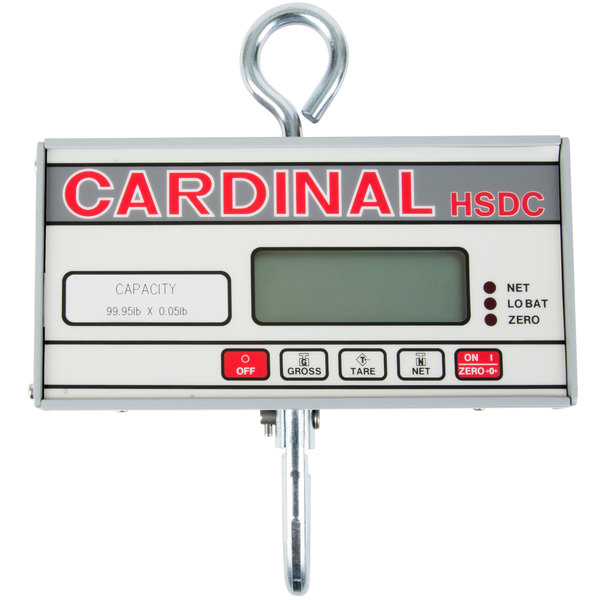 cardinal detecto hsdc100 100 lb digital hanging scale legal for trade - Detecto Scales