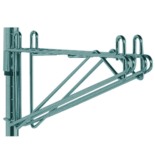 "Metro 2WS24K3 Post-Type Wall Mount Shelf Support for Adjoining Super Erecta Metroseal 3 24"" Deep Wire Shelving"