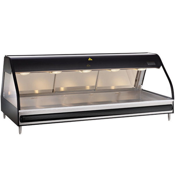 Alto-Shaam ED2 72/P Heated Display Case Self Service Countertop 72""