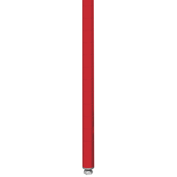 "Metro 33PF Stationary Super Erecta 34"" Post - Flame Red Finish"