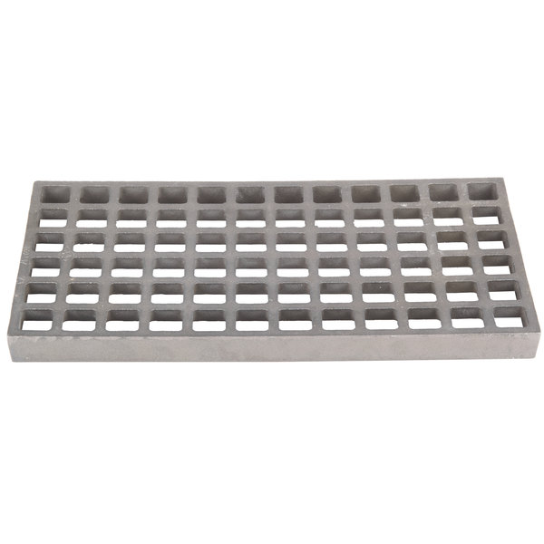 Cooking Performance Group 370210 8 inch x 15 inch Bottom Grate for CPG Lava Briquette Charbroilers
