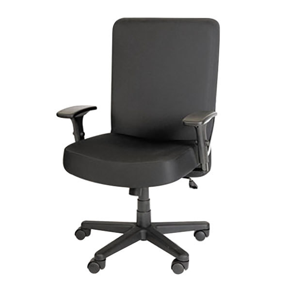 plus aapcp110 xl series black high-back big & tall fabric office