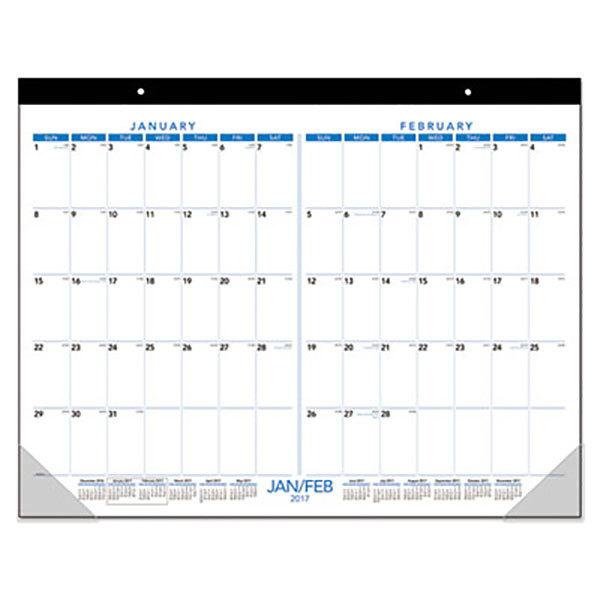 Blank Calendar Desk Pad : Desk calendar pad hostgarcia