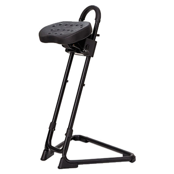 ... Adjustable Sit / Stand Stool. Main Picture ...  sc 1 st  Webstaurant Store & Alera Plus AAPSS600 SS Series Black Adjustable Sit / Stand Stool islam-shia.org