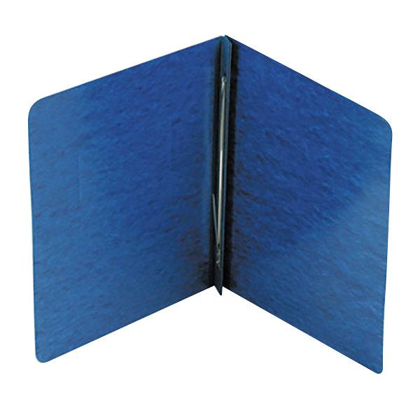 "Acco 25973 8 1/2"" X 11"" Dark Blue Pressboard Side Bound"