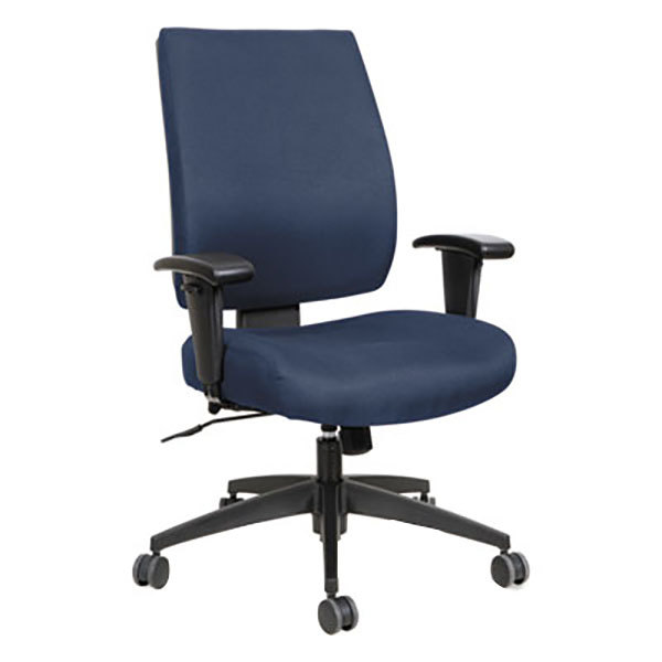adjustable arm desk chair. office chair with adjustable arms, synchro. main picture arm desk