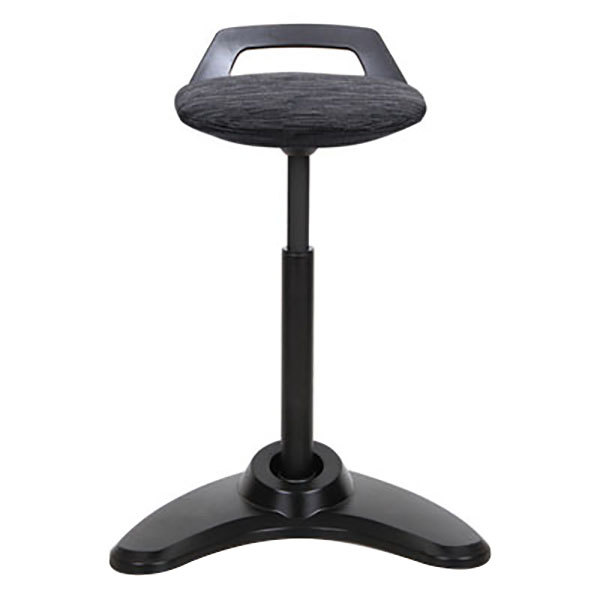 Alera Aleae35psbk Black Sit To Stand Perch Stool With