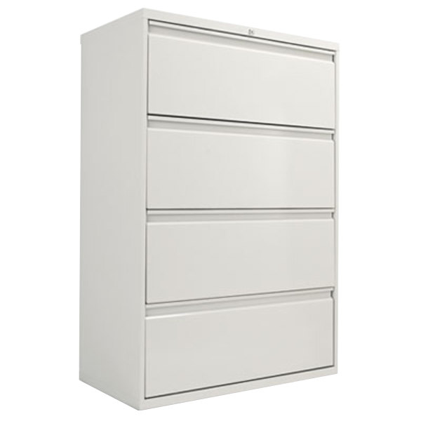 Four Drawer Metal Lateral File Cabinet  Main Picture  C B Image Preview