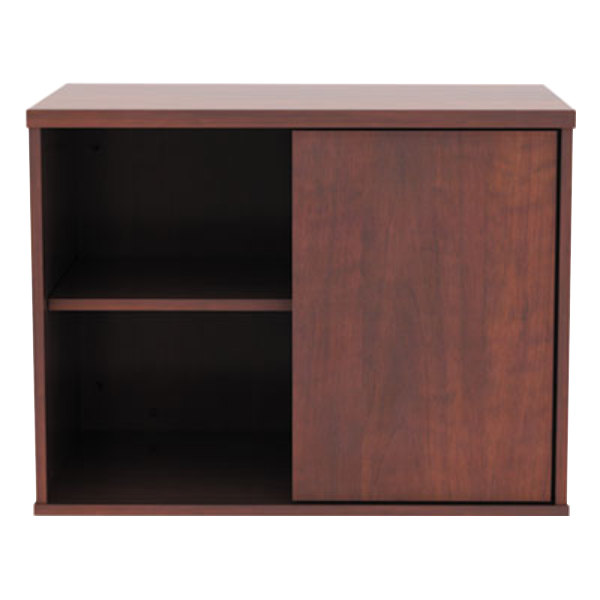 Alera ALELS593020MC Open Office Cherry Low Storage Cabinet ...