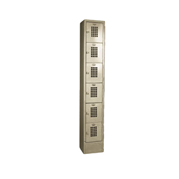 Winholt wl 66 18 single column six door locker with for 18 door locker