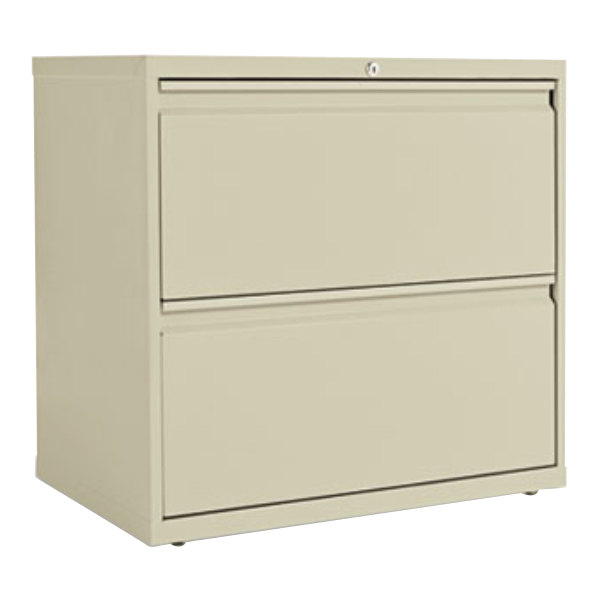 Alera ALELF3029PY Putty Two-Drawer Metal Lateral File Cabinet - 30 ...