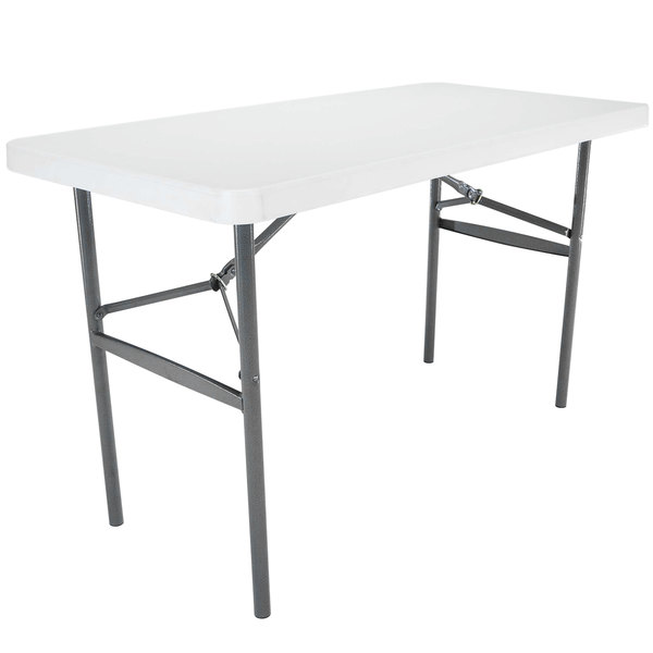 white square folding table and chairs ikea kitchen lifetime plastic granite walmart