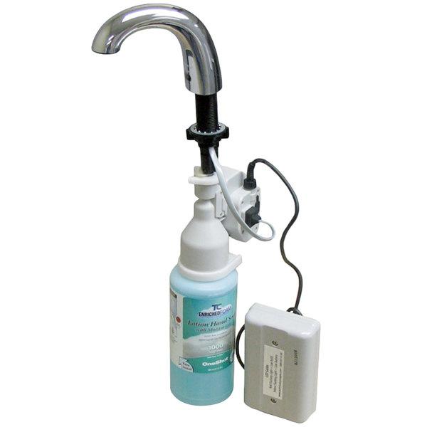 bobrick b826318 chrome counter mount automatic foaming soap dispenser with oneshot soap refill - Foam Soap Dispenser