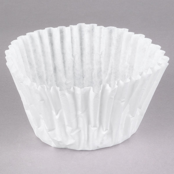 "Bunn 20157.0001 12 1/2"" x 4 3/4"" Gourmet Coffee Filter - 1000/Case"