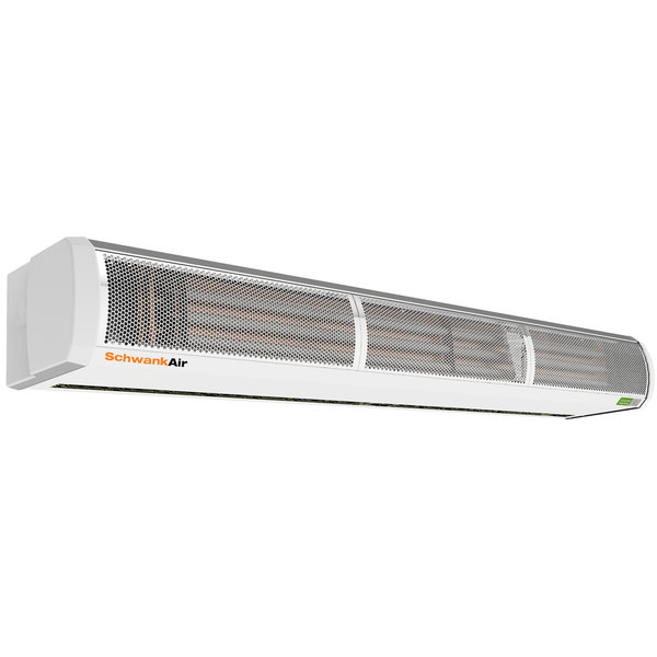 "Schwank AC-HE72-20 72"" Surface Mounted Air Curtain with Electric Heater - 208V, 3 Phase, 12 / 18 kW"