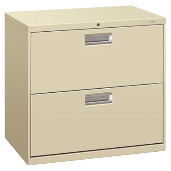 hon vertical file cabinet hon 672ll 600 series putty two drawer lateral filing 16595
