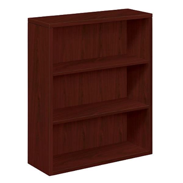 Hon nn series mahogany shelf laminate wood