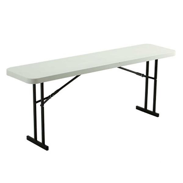 lifetime tables feet utility dp table folding com height amazon almond adjustable