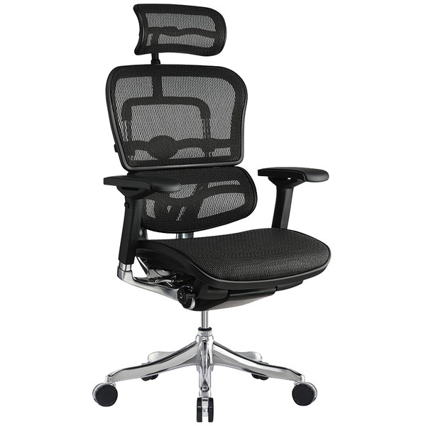 seating me22erglt-n15 ergoelite black mesh high back synchro tilt