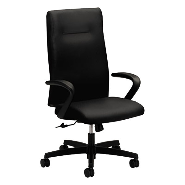 High Back Fabric Office Chair With Casters Main Picture