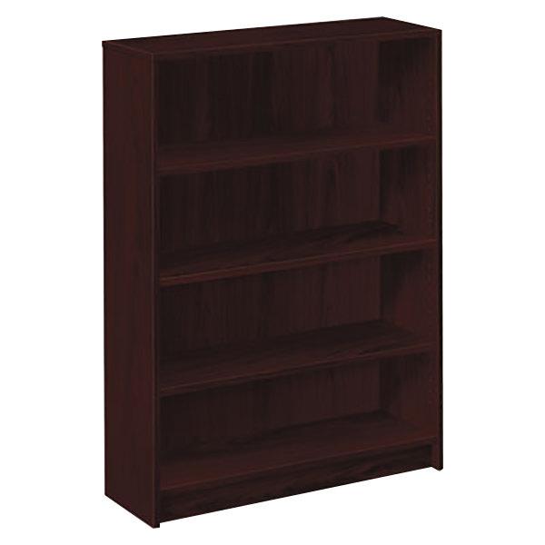 Hon n series mahogany shelf laminate wood