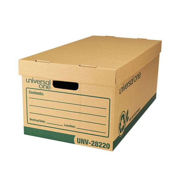 Universal unv28220 24 x 12 x 10 heavy duty kraft letter for 24 cardboard letters