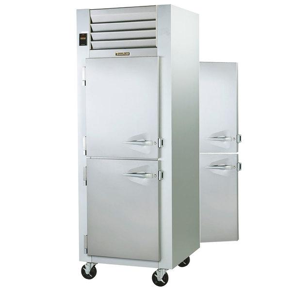 Amazing Traulsen G14304P 1 Section Pass Through Half Door Hot Food Holding Cabinet  With Left Hinged Doors Good Looking