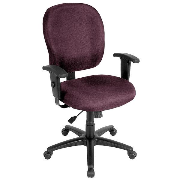 Excellent Eurotech Ft4547 At31 Racer Street Series Burgundy Mid Back Swivel Office Chair Machost Co Dining Chair Design Ideas Machostcouk