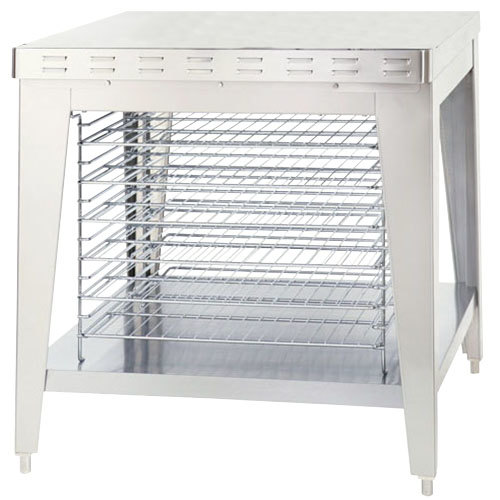 Alto-Shaam 5003489 Stationary Stand with Cooling Racks and Bullet Feet for ASC-4E and ASC-4G Convection Ovens - 35 1/2""