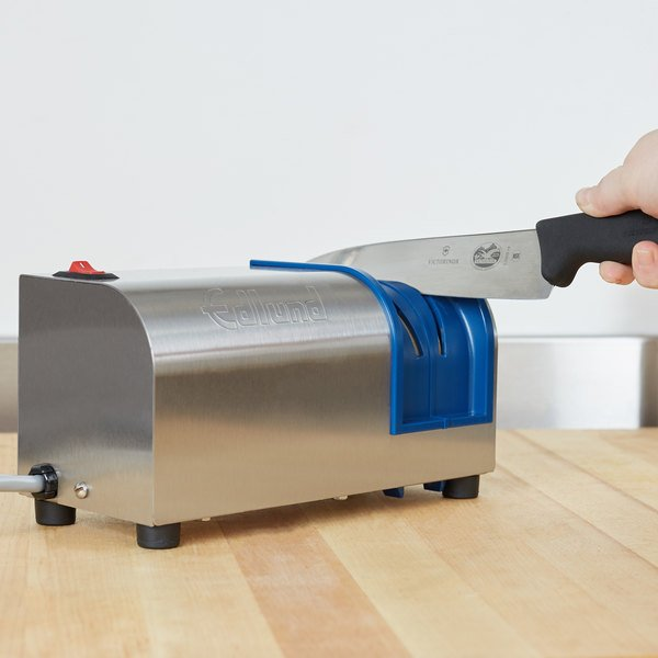 edlund 401 nsf electric knife sharpener with removable guidance system 115v - Knife Sharpener
