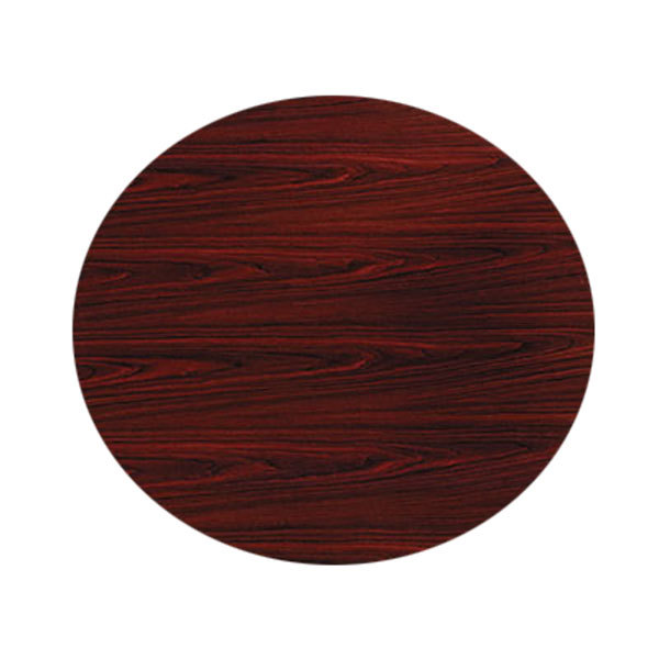 HON TLDGNNN Series Mahogany Round Conference Table Top - Hon round conference table