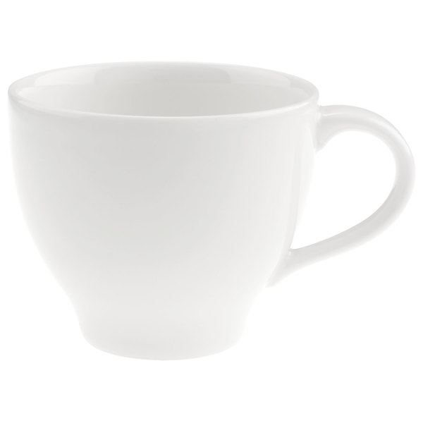villeroy boch 16 3293 1360 dune 6 oz white porcelain cup 6 case. Black Bedroom Furniture Sets. Home Design Ideas