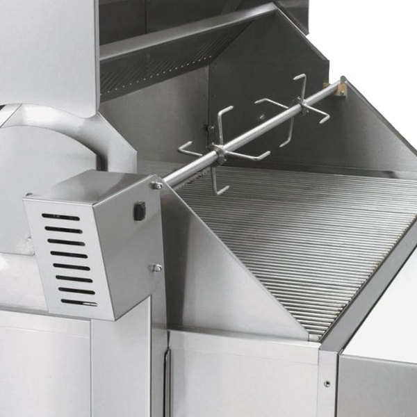 "Crown Verity RT-48BI 48"" Built-In Grill Rotisserie Assembly"