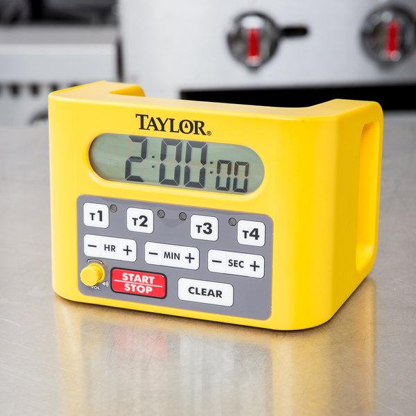 Taylor 5839N Digital 4 Channel Commercial Kitchen Timer