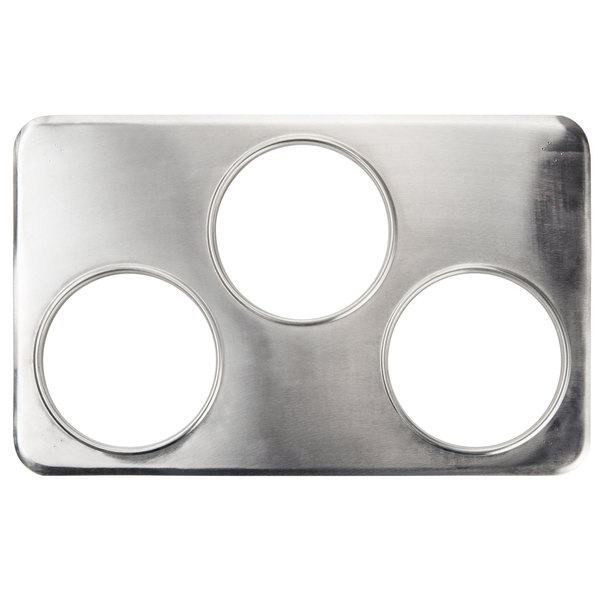 "3 Hole Adapter Plate with 6 3/8"" Openings"