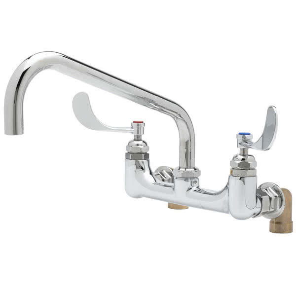 Equip by T&S 5F-8WWB06 Wall Mounted Faucet with 8\