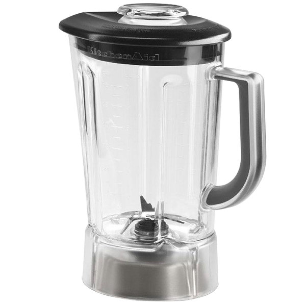 56 oz bpa free pitcher with lid for kitchenaid residential blenders