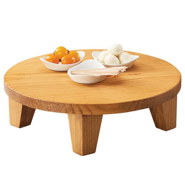 Round Table Madera.Cal Mil 3668 3 99 Madera 12 X 3 1 2 Round Rustic Pine Riser