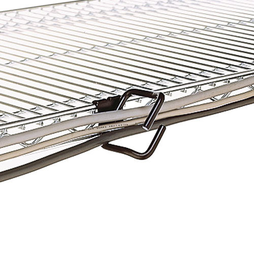 "Metro CWM 2"" Wire Management Clip for Super Erecta and QwikSlot Shelves"