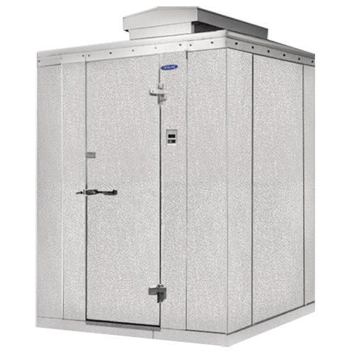 Nor lake walk in cooler 10 39 x 10 39 x 7 39 7 outdoor walk in for 10 door walk in cooler
