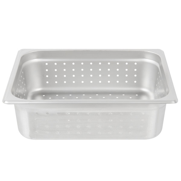 Perforated Stainless Steel Steam Table Food Pans and Plastic Colander Pans 94e6e9cc8e6