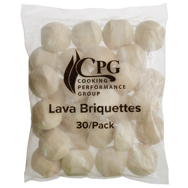 Cooking Performance Group 351154504836 Lava Briquette Kit for 36 inch Charbroilers