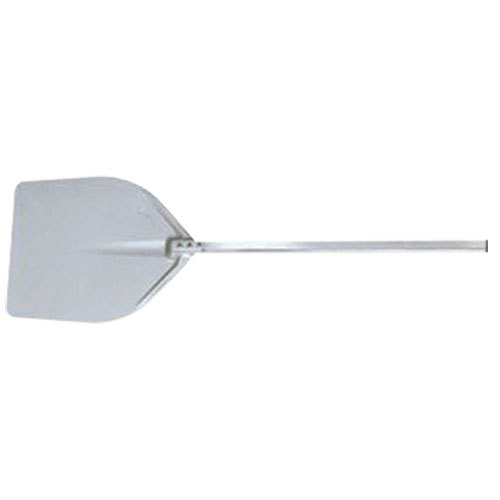 "American Metalcraft ITP1922 19 1/2"" x 21"" Deluxe All Aluminum Pizza Peel with 24 1/2"" Handle"