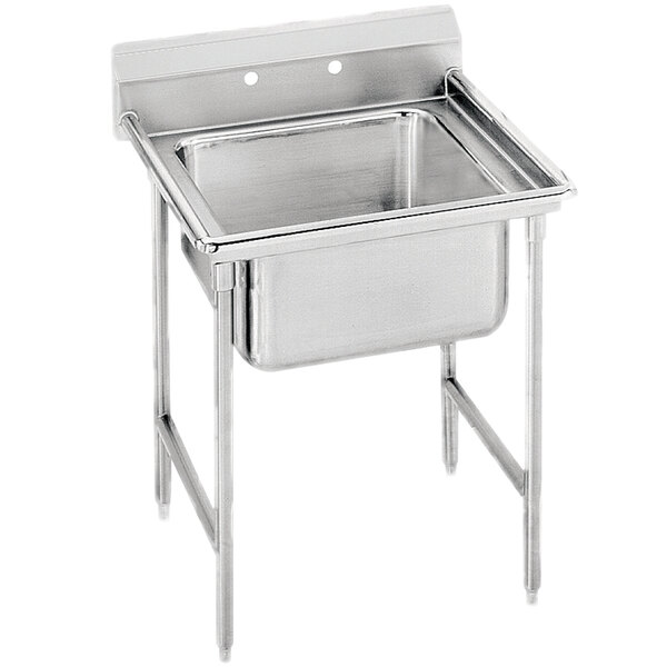 Advance Tabco 93-81-20 Regaline One Compartment Stainless Steel Sink - 29""
