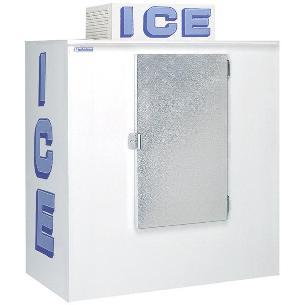 Polar Temp 630cw Cold Wall Outdoor Ice Merchandiser 65