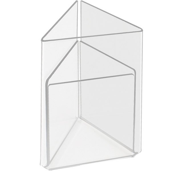 "Cal-Mil 541 Triangle Displayette - 4"" x 6"""